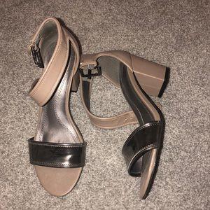 Tahari Grey Heels